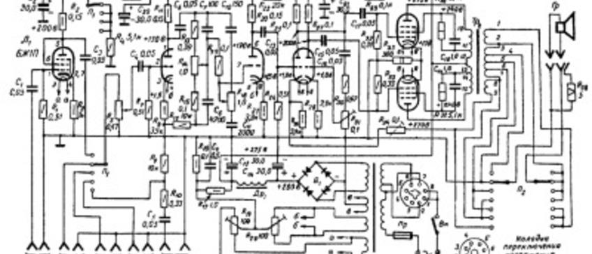 Схемы ламповых усилителей. Часть 2. Сложные схемы ламповых усилителей
